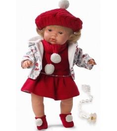 Кукла Llorens Juan Клавдия 38см со звуком L 38536