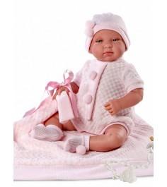 Кукла Llorens Juan младенец 43 см с одеялом L 84408