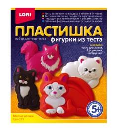 Тесто для лепки пластишка милые кошки Lori Тдл-023