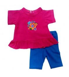 Одежда для куклы Mary Poppins 38 43см Туника и легинсы Цветочек 209
