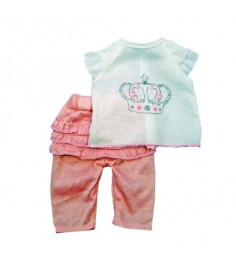 Одежда для куклы Mary Poppins 38 43см футболка и штанишки 452030