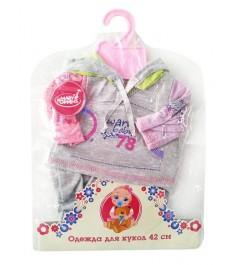 Набор одежды для куклы Mary Poppins спортивный костюм 42 см 452065