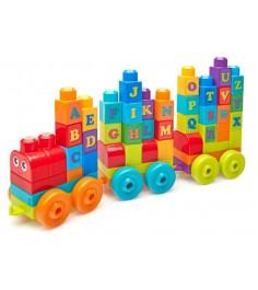 Mega Bloks ABC обучающий поезд DXH35