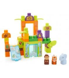 Mega Bloks игровой набор зоопарк сафари FFG42