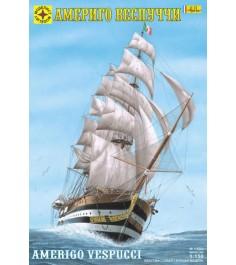 Модель корабль америго веспуччи 1:150 Моделист 115060