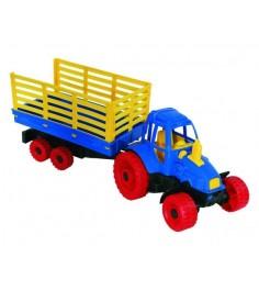 Трактор с прицепом Нордпласт 051