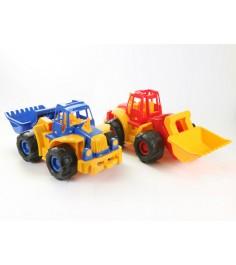 Трактор богатырь с грейдером Нордпласт 099