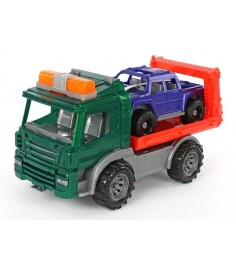 Эвакуатор с машиной спецтехника Нордпласт 205