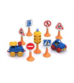 Набор дорожные знаки №3 Нордпласт Р74967