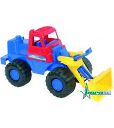 Трактор носорог черный Нордпласт 431605