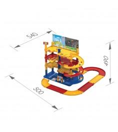 Игровой набор мега гараж с дорогой Нордпласт Р20985