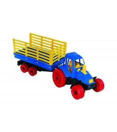 Игрушечный трактор с прицепом Нордпласт Р27586