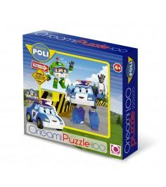 Пазл робокар поли 100 элементов Origami 5898