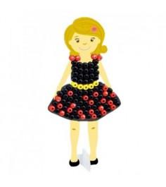 3d мозаика создай свое платье платье с поясом Paulinda 150105-1