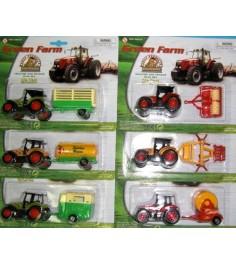 Игрушка трактор с прицепом Pioneer Toys А18732
