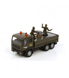 Модель автомобиля Армейский грузовик 14см Пламенный мотор 870089