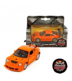 Модель автомобиля 1:39 Porsche GT3 RSR 12см в ассортименте Пламенный мотор 870143
