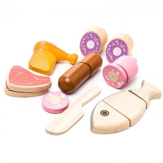 Деревянный игровой набор Plan Toys Мясо 3457