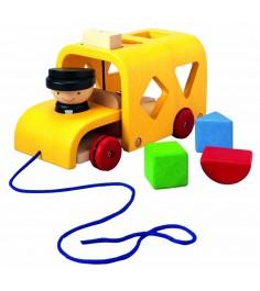 Деревянный сортер Plan Toys Автобус 5121