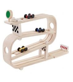 Игра для малышей Plan Toys Гонщики 5379