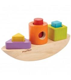 Деревянный сортер Plan Toys Лодка 5429