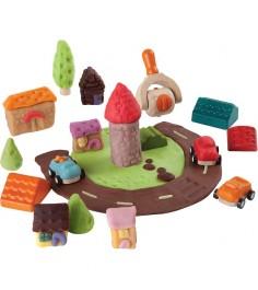Набор для игры с тестом Plan Toys Построй город 5699