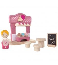 Игровой набор Plan Toys Ларек с мороженым 6614