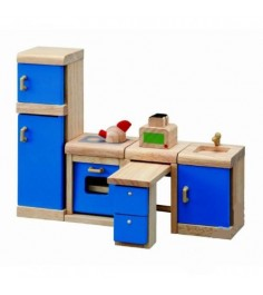 Набор деревянной мебели Plan Toys для кукол Кухня Нео 7310
