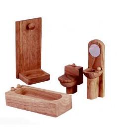 Ванная комната Plan Toys для кукольного дома Классик 9014