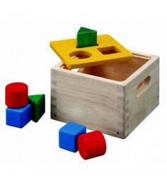 Деревянный сортер Plan Toys Куб 9430