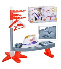 Пластмассовая игрушка детский утюг с гладильной доской Play Smart 2303