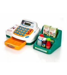 Игровая интерактивная касса cash register мой магазин свет звук Play Smart 7254