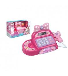 Игрушечный кассовый аппарат мой магазин свет звук Play Smart 7716