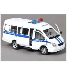 Инерционная машинка автопарк микроавтобус свет звук Play Smart 9098-D
