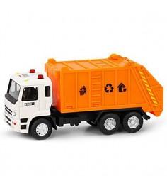 Инерционная машинка автопарк мусоровоз 1:54 Play Smart А74814