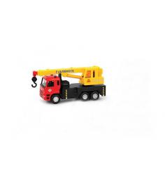 Машина строительная техника кран инерционная Play Smart X600-H09087