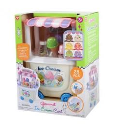 Набор с пластилином Playgo тележка с мороженым Play 8870