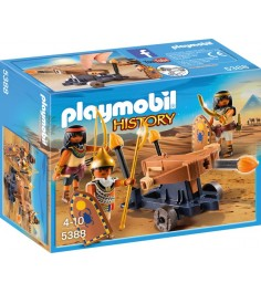 Римляне и египтяне египетский солдат с баллистой Playmobil 5388pm
