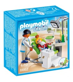 Детская клиника дантист с пациентом Playmobil 6662pm