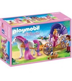 Замок принцессы королевская чета с каретой Playmobil 6856pm
