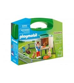 Возьми с собой домик кролика Playmobil 9104pm