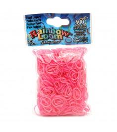 Резинки для плетения браслетов Rainbow Loom Перламутр пылкий розовый B0181