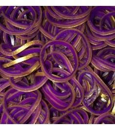 Набор резиночек Rainbow Loom для плетения Персидская коллекция Фиолетовый BW0022
