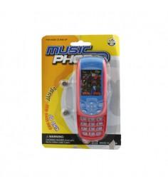 Интерактивная игрушка мобильный телефон звук Gratwest Б27967