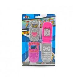 Игрушечный музыкальный мобильный телефон Gratwest Б27435