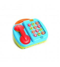 Обучающая игрушка телефон пианино Gratwest Б35559