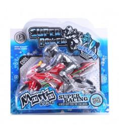 Игрушечный мотоцикл super power с гонщиком Gratwest В59495