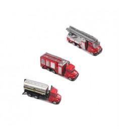 Металлическая пожарная машина super truck 1:64 Gratwest А78550
