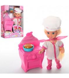 Игровой набор с куклой милашка поваренок Gratwest Д78527