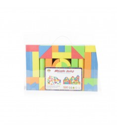 Мягкий конструктор building blocks 113 дет Gratwest Г40506